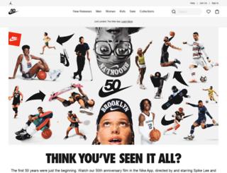 nikestore.com.au screenshot