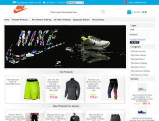 niketrainersstore.com screenshot