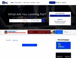 nikhiljobs.com screenshot