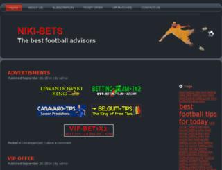 niki-bets.com screenshot