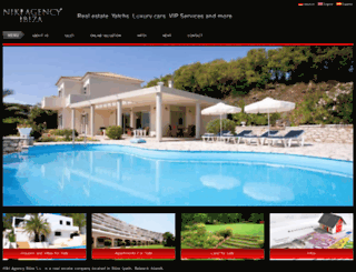 nikiagencyibiza.com screenshot