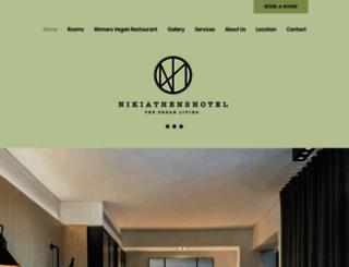 nikiathenshotel.com screenshot
