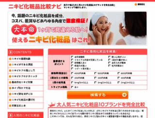 nikibi-ranking.net screenshot