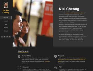 nikicheong.com screenshot