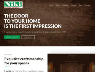 nikidoors.com screenshot