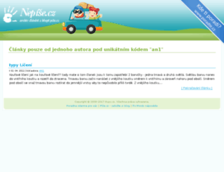nikinka444.pise.cz screenshot