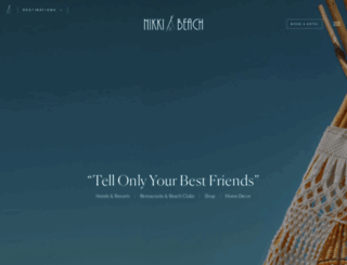 nikkibeach.com screenshot