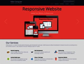 nikkicomputer.com screenshot