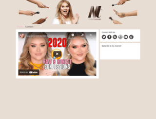 nikkietutorials.com screenshot