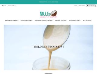 nikkiscoconutbutter.com screenshot