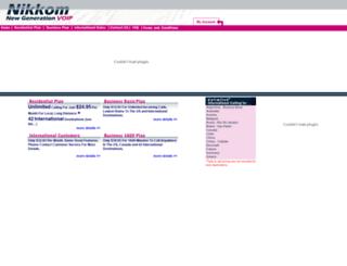 nikkom.com screenshot
