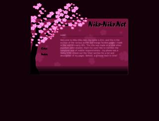 niko-niko.net screenshot