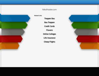 nikolhasler.com screenshot