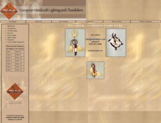 nikolights.com screenshot