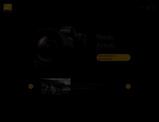 nikon.ch screenshot