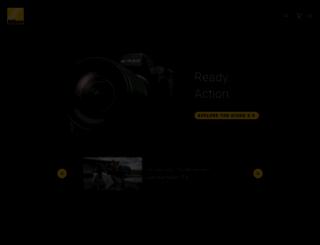nikon.co.uk screenshot