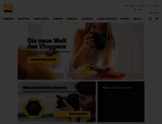 nikon.de screenshot