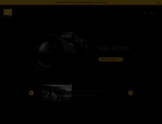 nikon.dk screenshot
