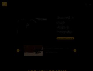 nikon.rs screenshot