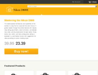 nikond800e.com screenshot