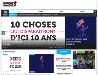 nikopik.com screenshot