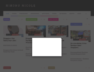 nikorunicole.com screenshot