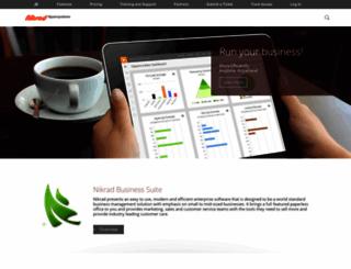 nikrad.com screenshot