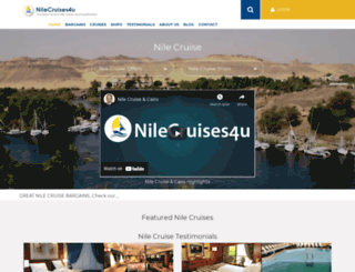 nile-cruises-4u.co.uk screenshot