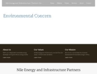 nileenergypartners.com screenshot
