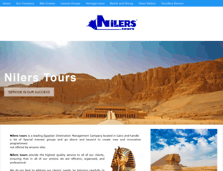 nilerstours.com screenshot