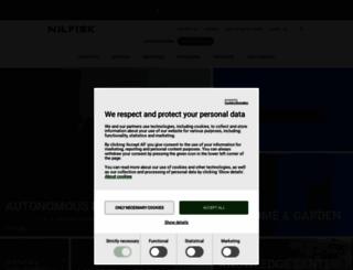 nilfisk-advance.com screenshot