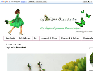 nilgunozenaydin.com screenshot