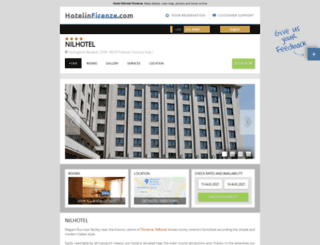 nilhotel.hotelinfirenze.com screenshot