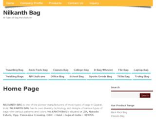 nilkanthbag.com screenshot