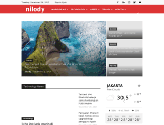 nilody.com screenshot