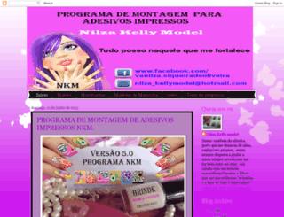 nilzakellymodel.blogspot.com screenshot