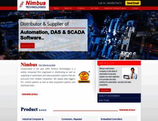 nimbus-technologies.net screenshot