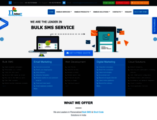 nimbusitsolutions.com screenshot