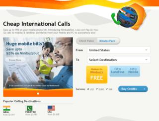 nimbuzzout.com screenshot