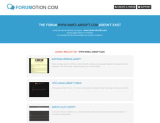 nimes-airsoft.com screenshot