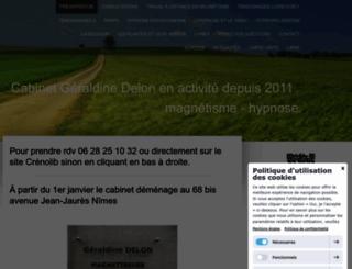 nimesmagnetiseur.com screenshot