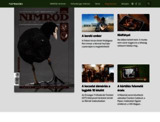 nimrod.hu screenshot