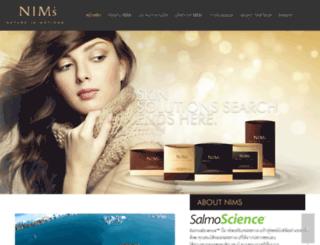 nims.co.th screenshot
