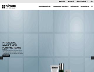 nimueskin.com screenshot