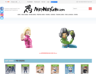 nin-nin-game.fr screenshot