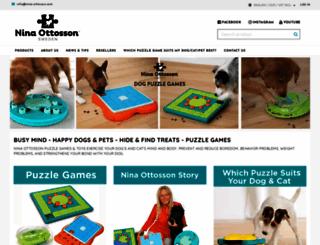 nina-ottosson.com screenshot