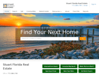 nina.stuarthomesearch.com screenshot