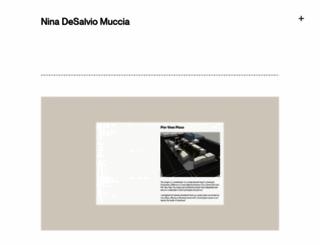 ninamuccia.com screenshot