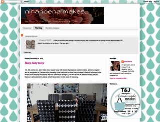 ninaribenamakes.blogspot.com screenshot