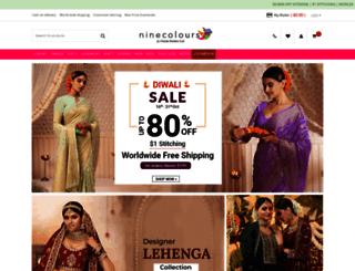 ninecolours.com screenshot